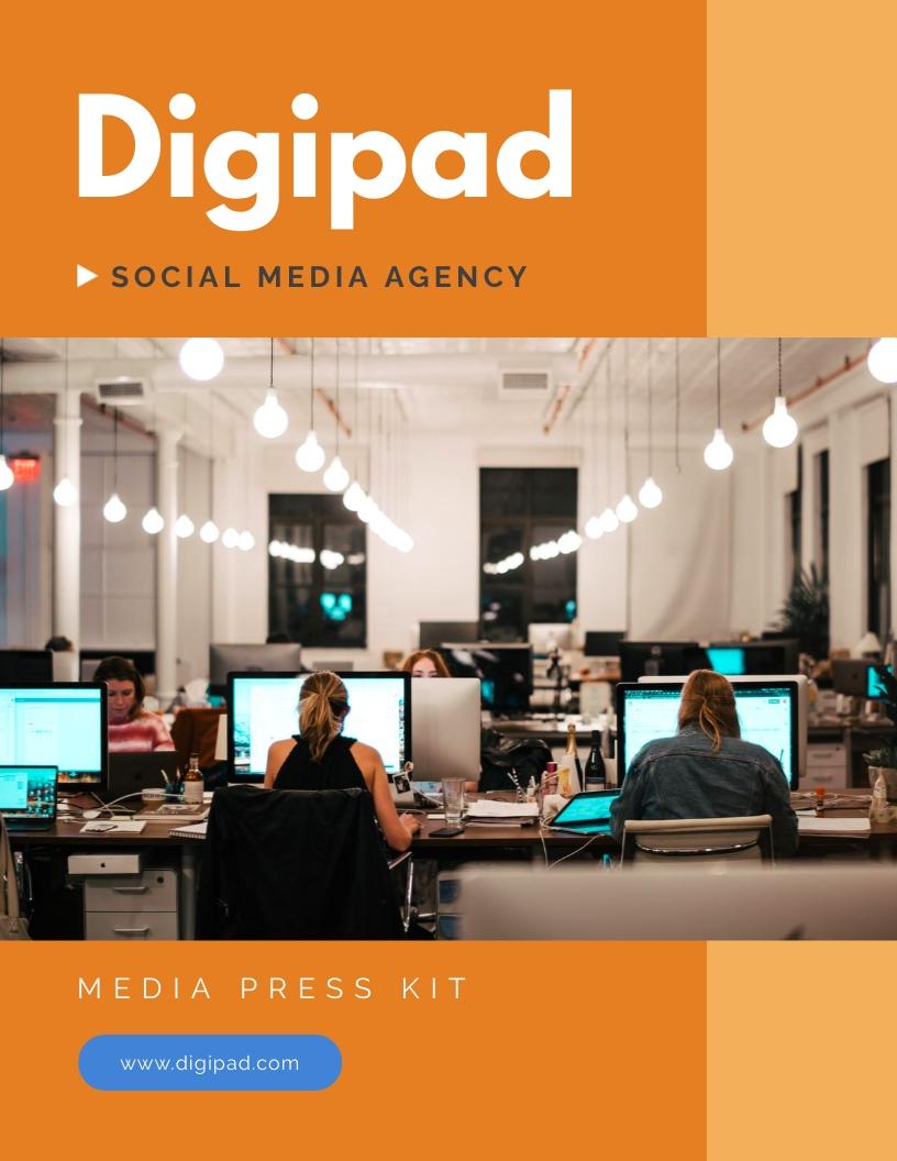 Social Media Agency Press Kit Template