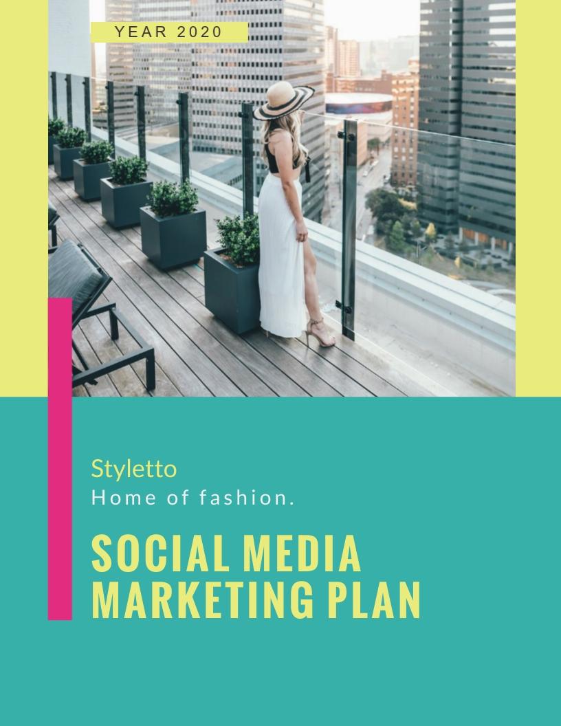 Social Media - Marketing Plan Template