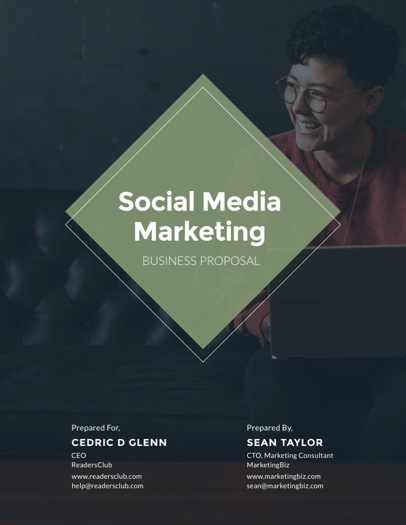 Social Media Marketing - Proposal Template