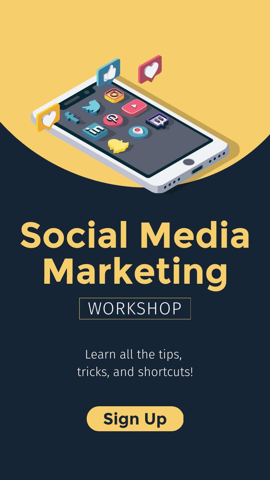 Social Media Mktg Vertical Template