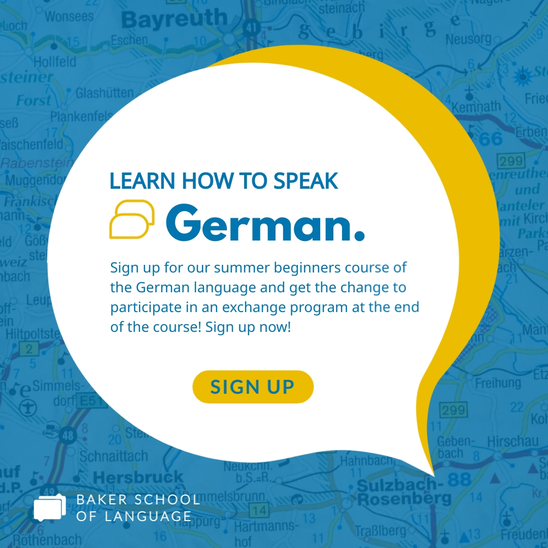 Speak German Animated Square Template