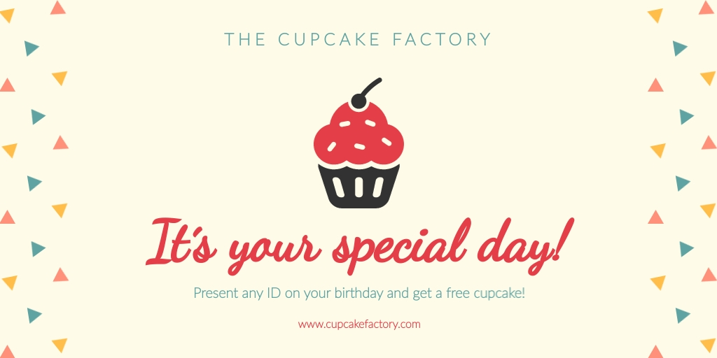 Special Day Twitter Ad   Template