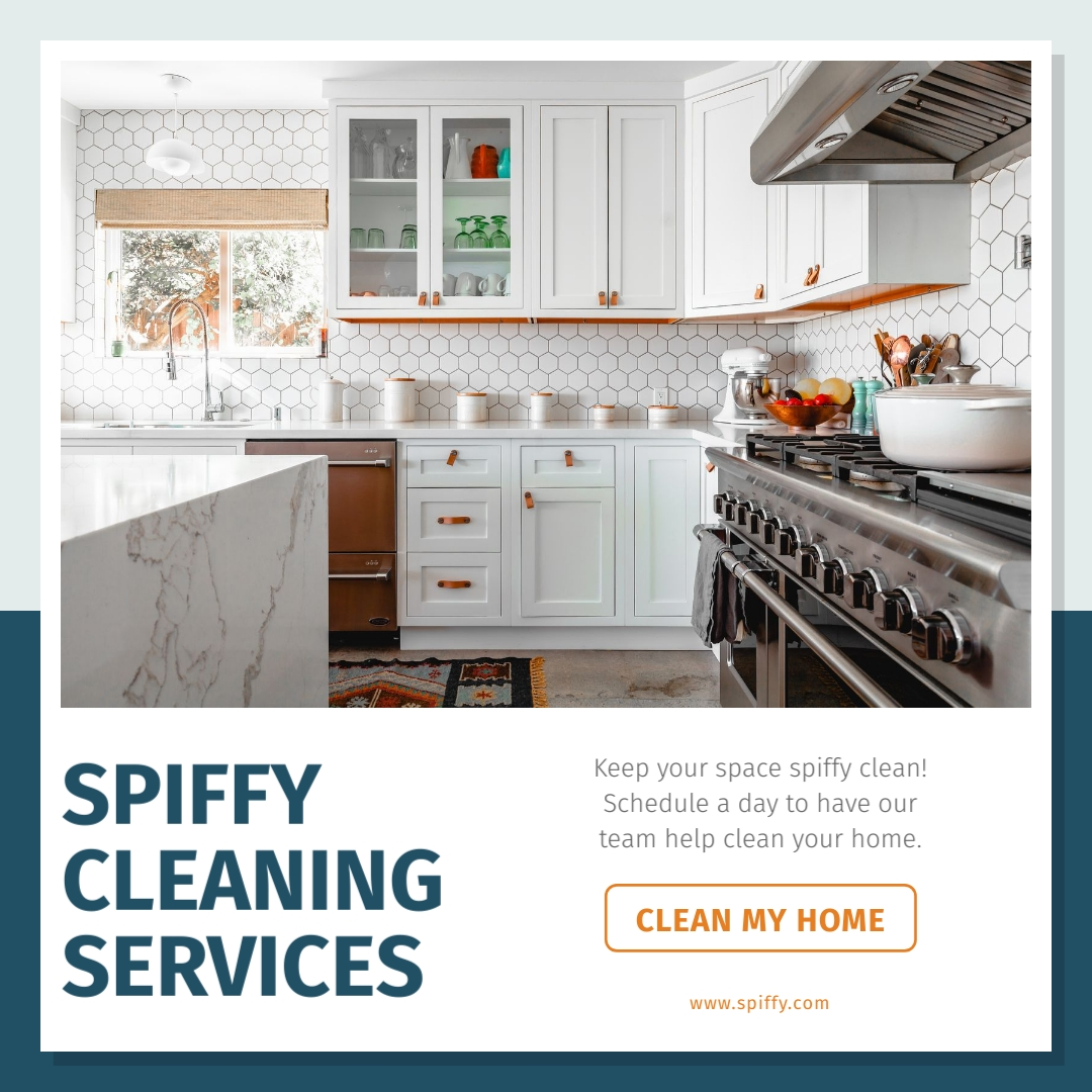 Spiffy Cleaning Services - Instagram Post Template