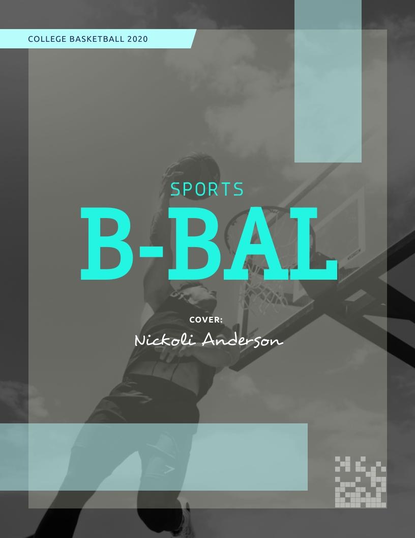 Sports - Magazine Cover Template