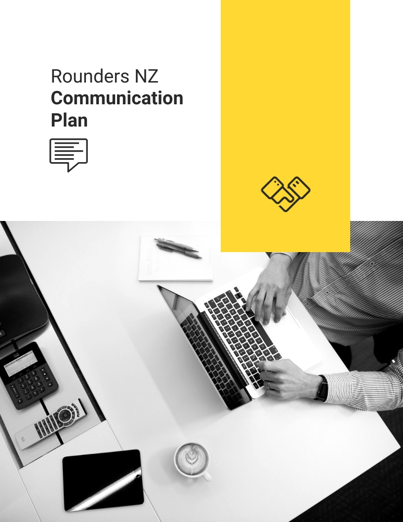 Stakeholder - Communication Plan Template