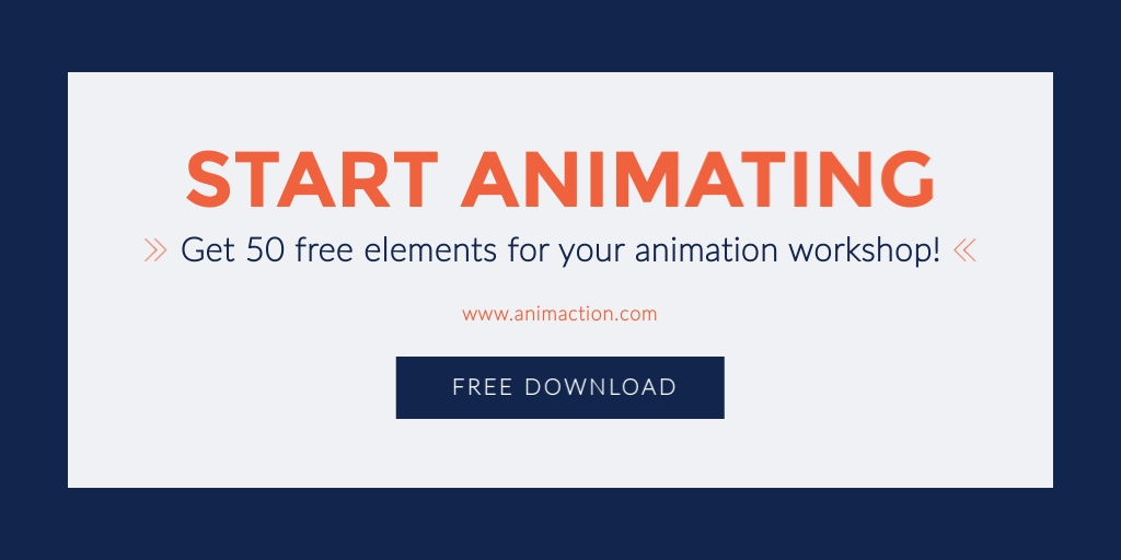 Start Animating Twitter Ad  Template