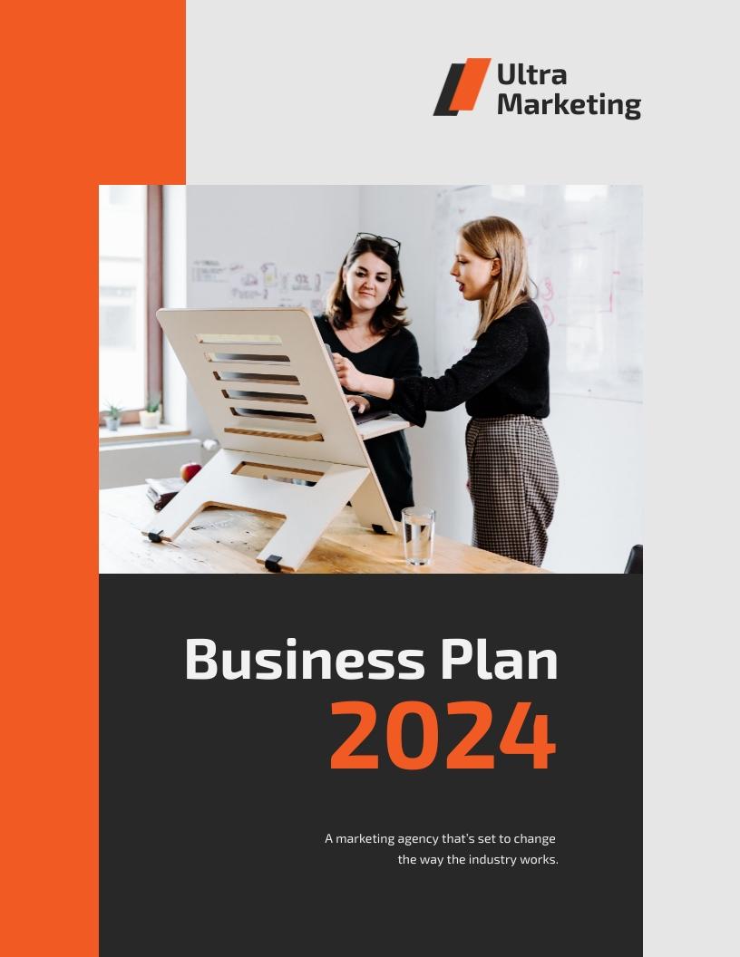 Startup - Business Plan Template