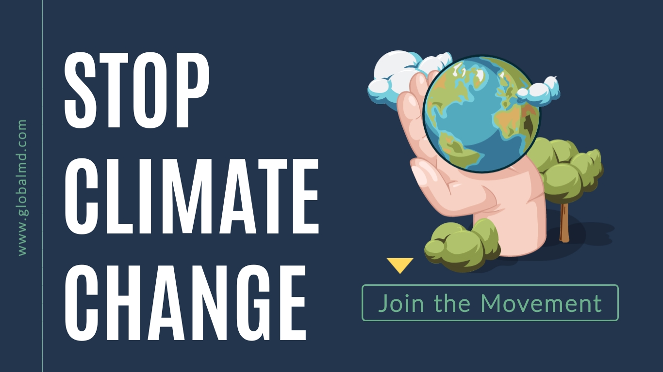 Stop Climate Change Wide Template