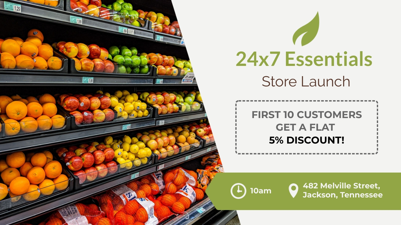 Store Launch Facebook Event Cover Template