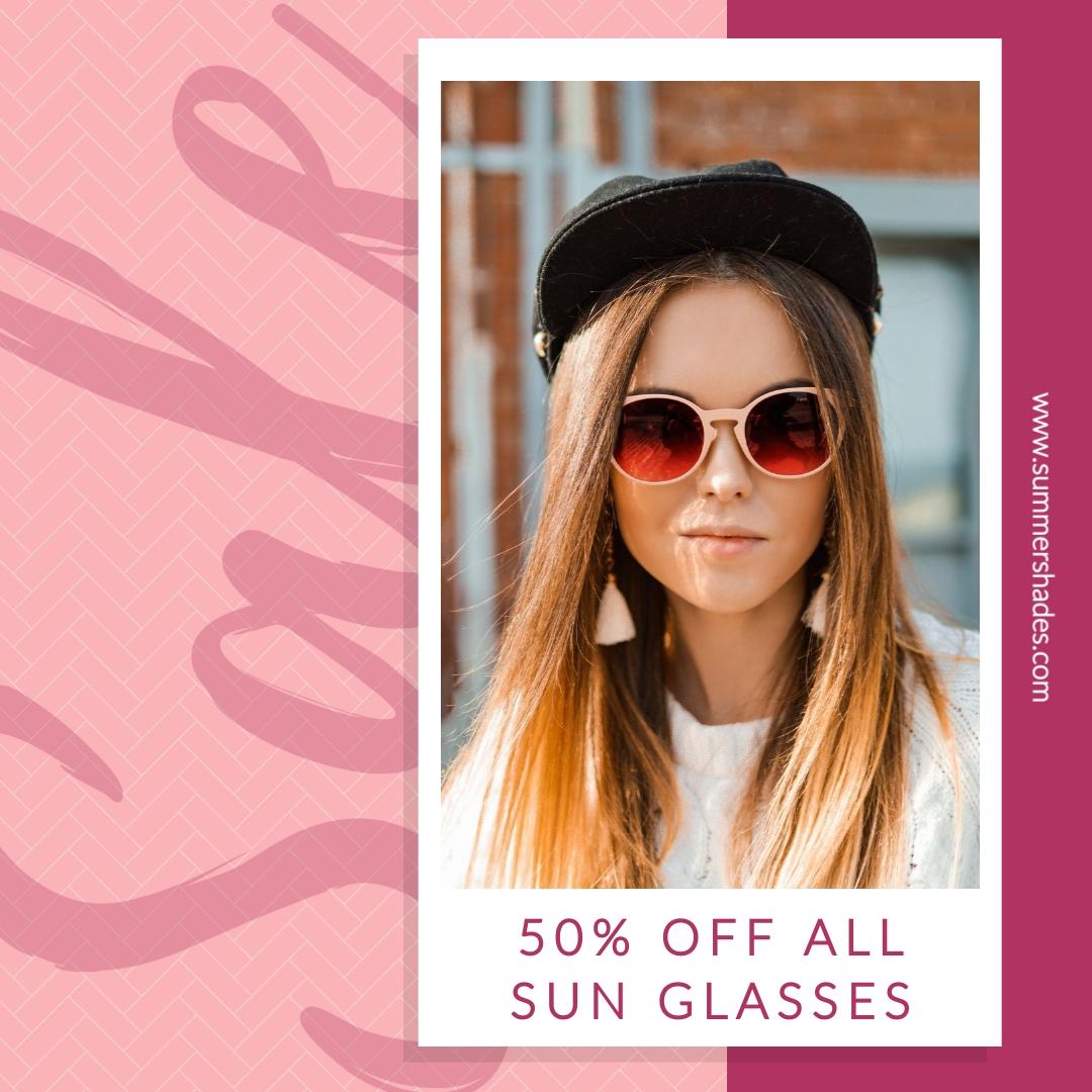 Sunglasses Sale - Instagram Post Template