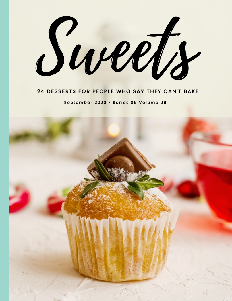 Sweets - Magazine Cover Template