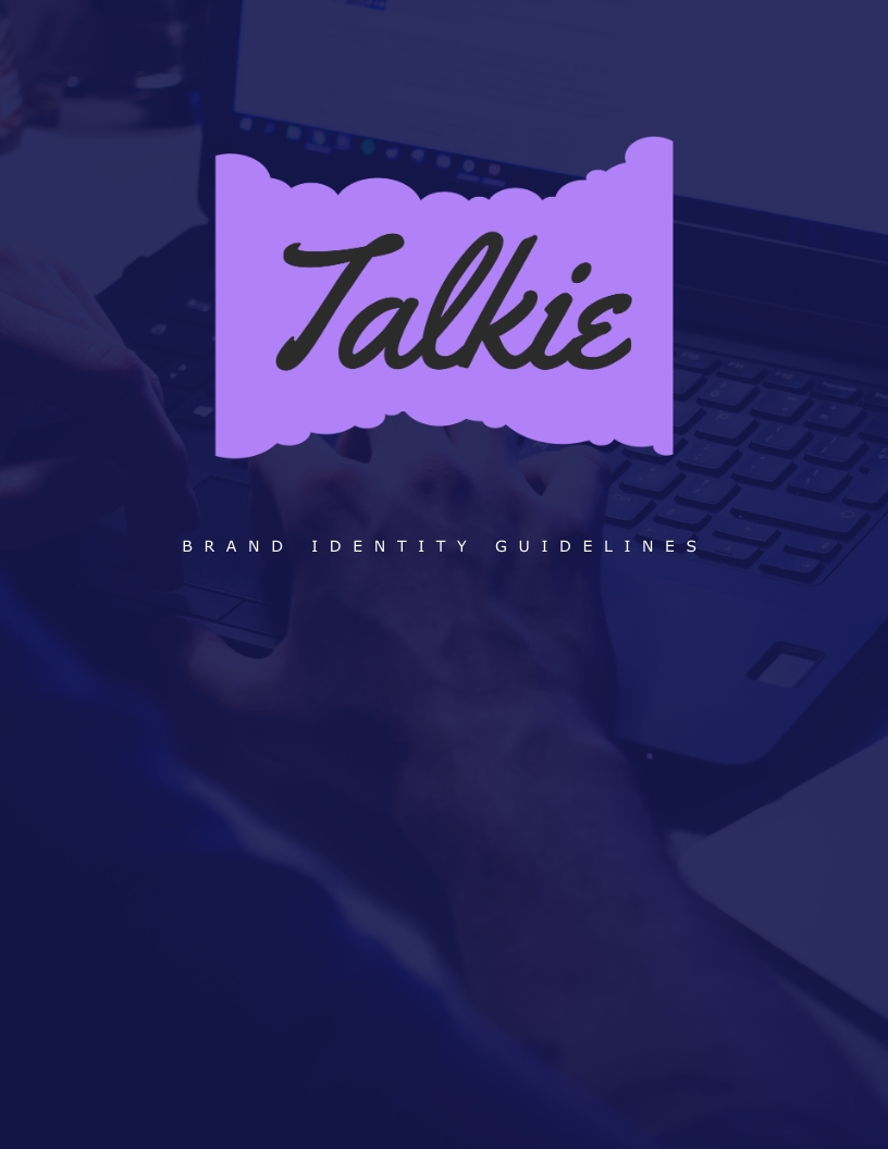 Talkie - Brand Guidelines Template