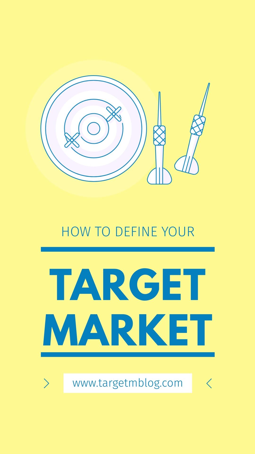 Target Market Vertical Template