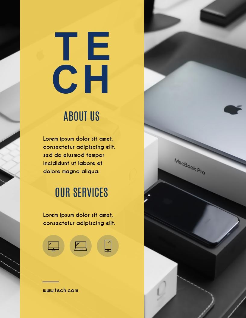 Tech - Flyer Template