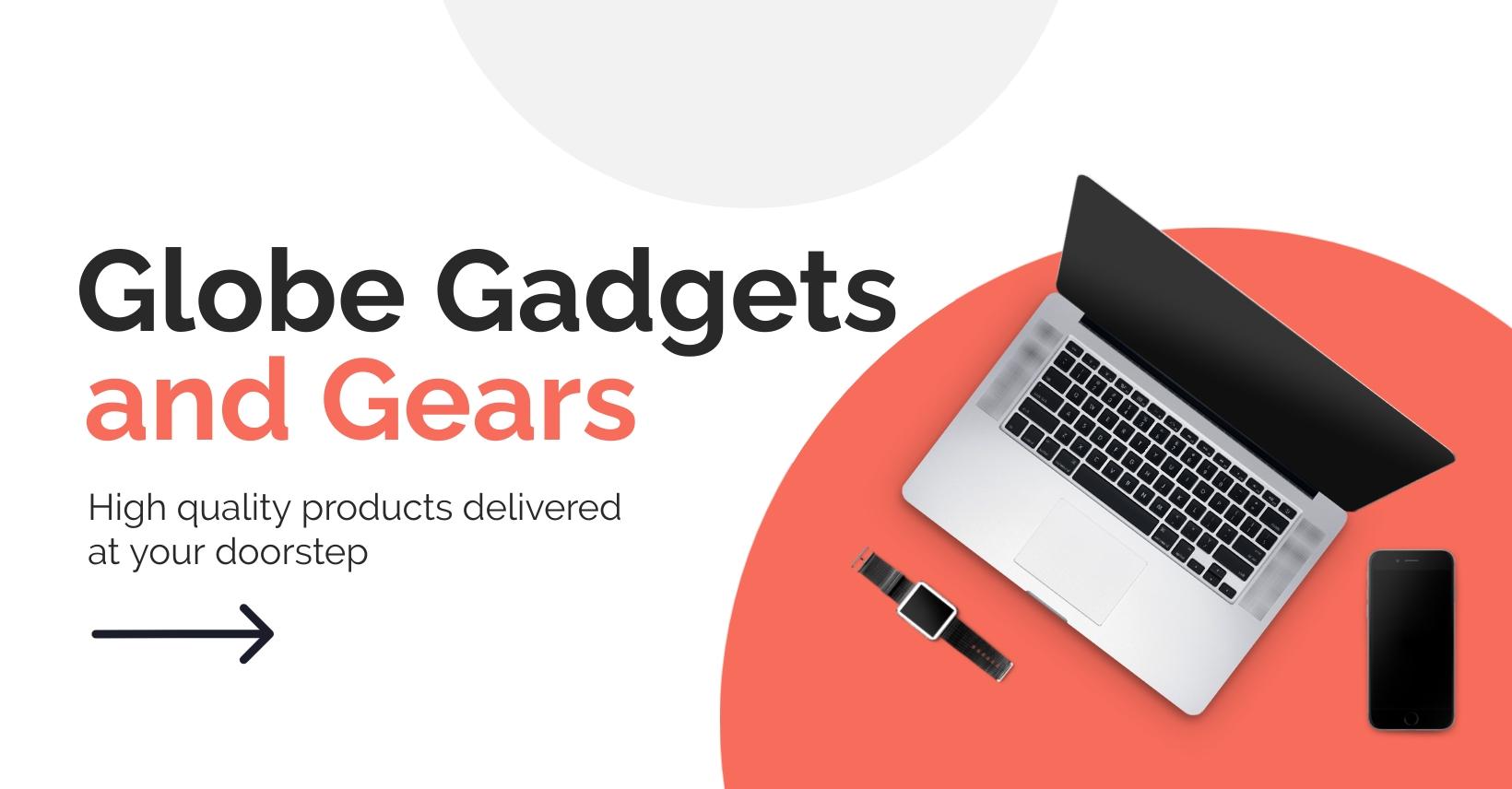 Tech Shop Facebook Group Cover Template