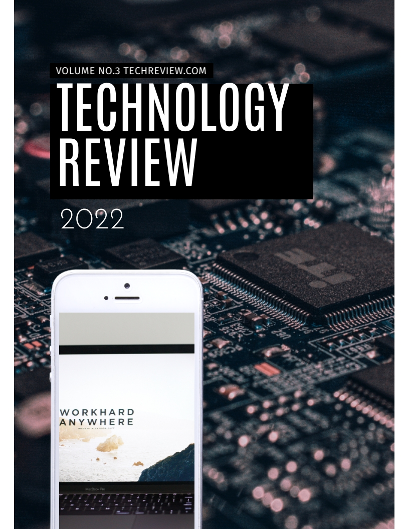 Technology - Magazine Cover Template
