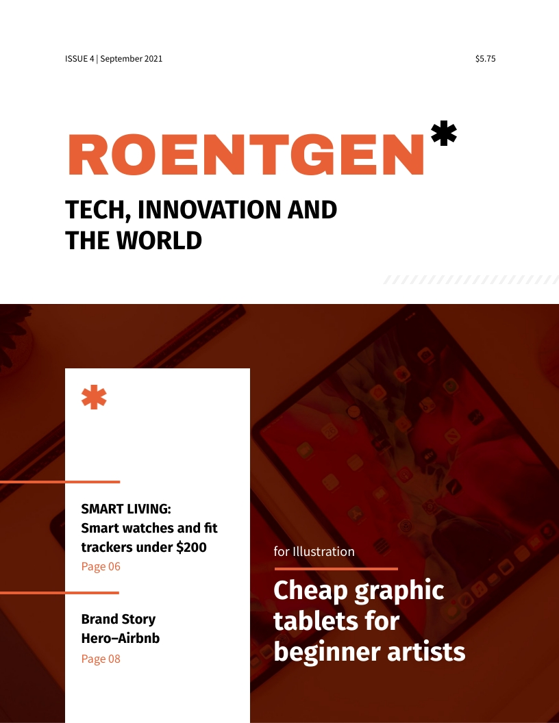 Technology Magazine Template