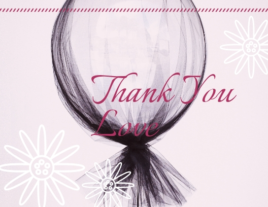 Thank You - Postcard Template