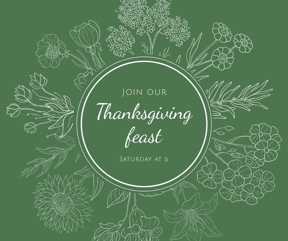 Thanksgiving Feast Facebook Post Template