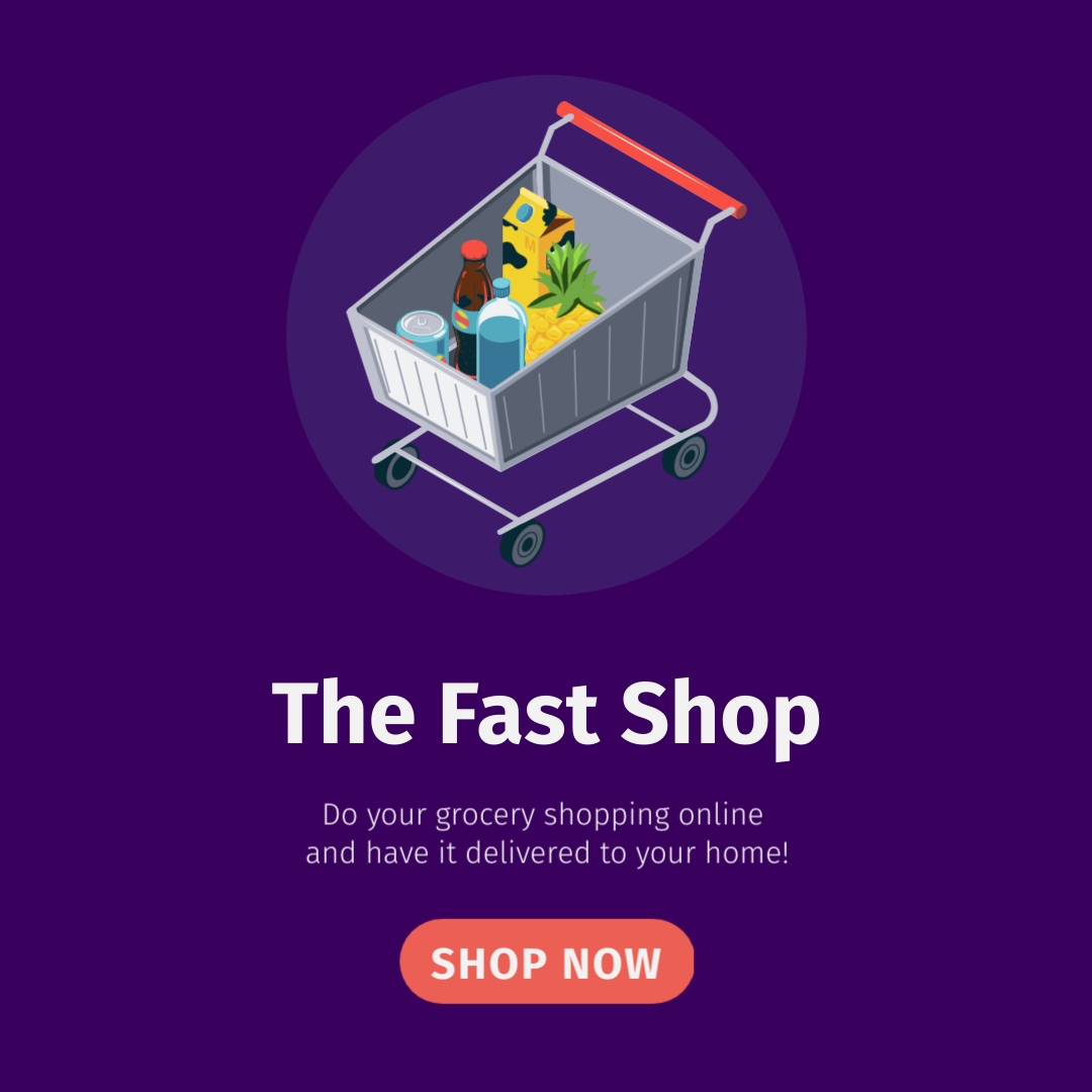 The Fast Shop Square Template