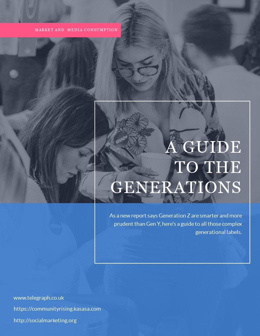 Ebook Template – The Generations Template