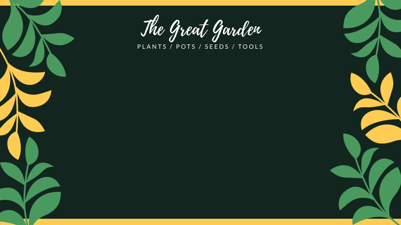 The Great Garden - Zoom Background Template