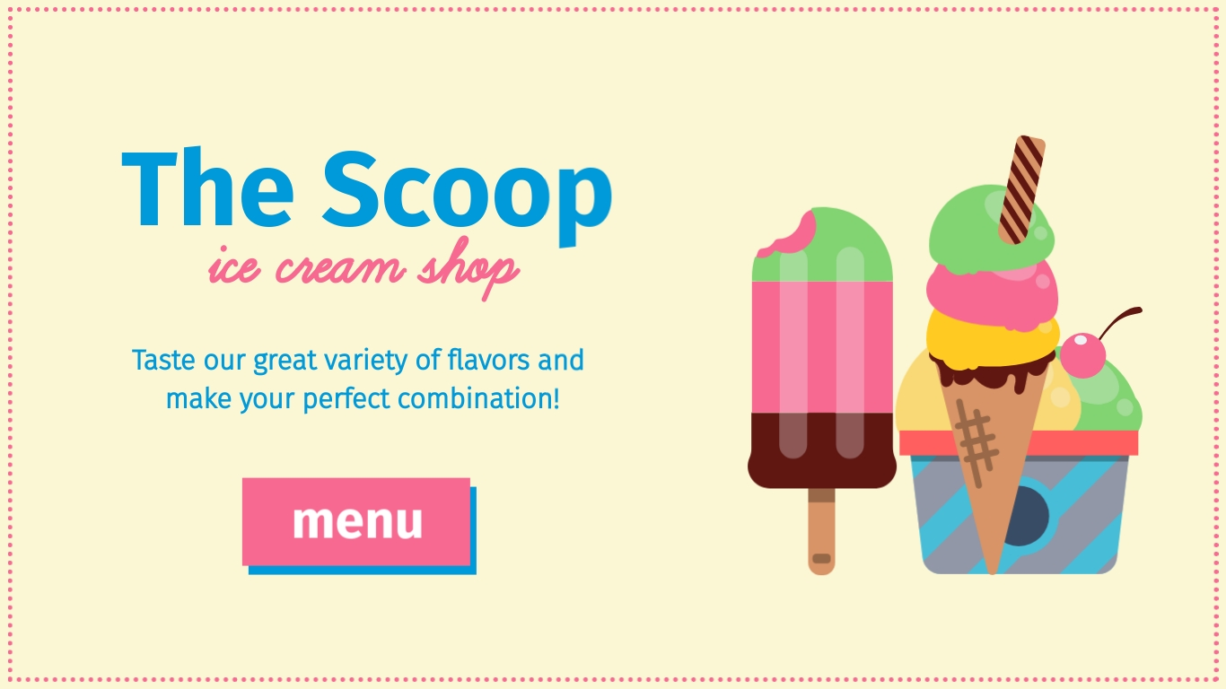 The Scoop - Twitter Ad Template