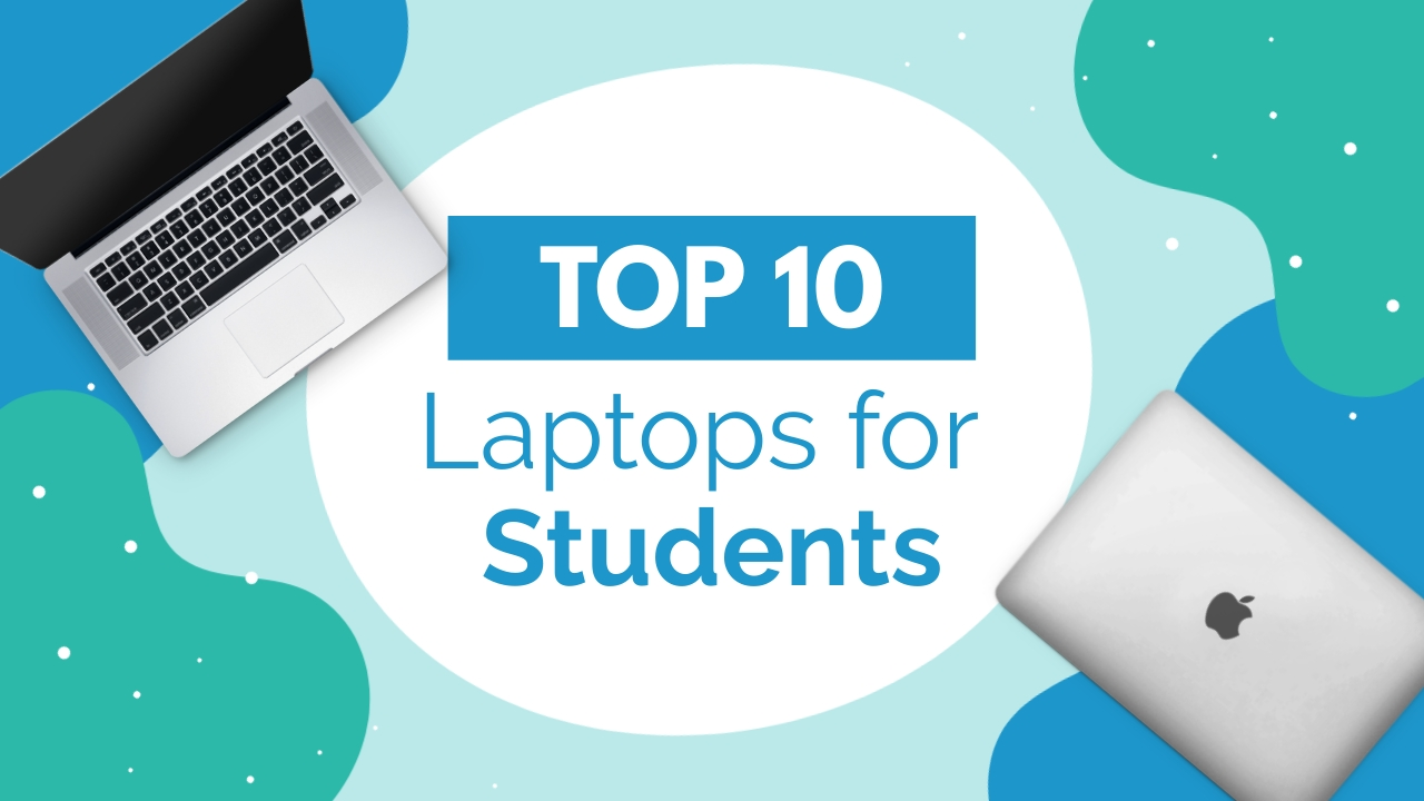 Top 10 Laptops for Students Youtube Thumbnail Template