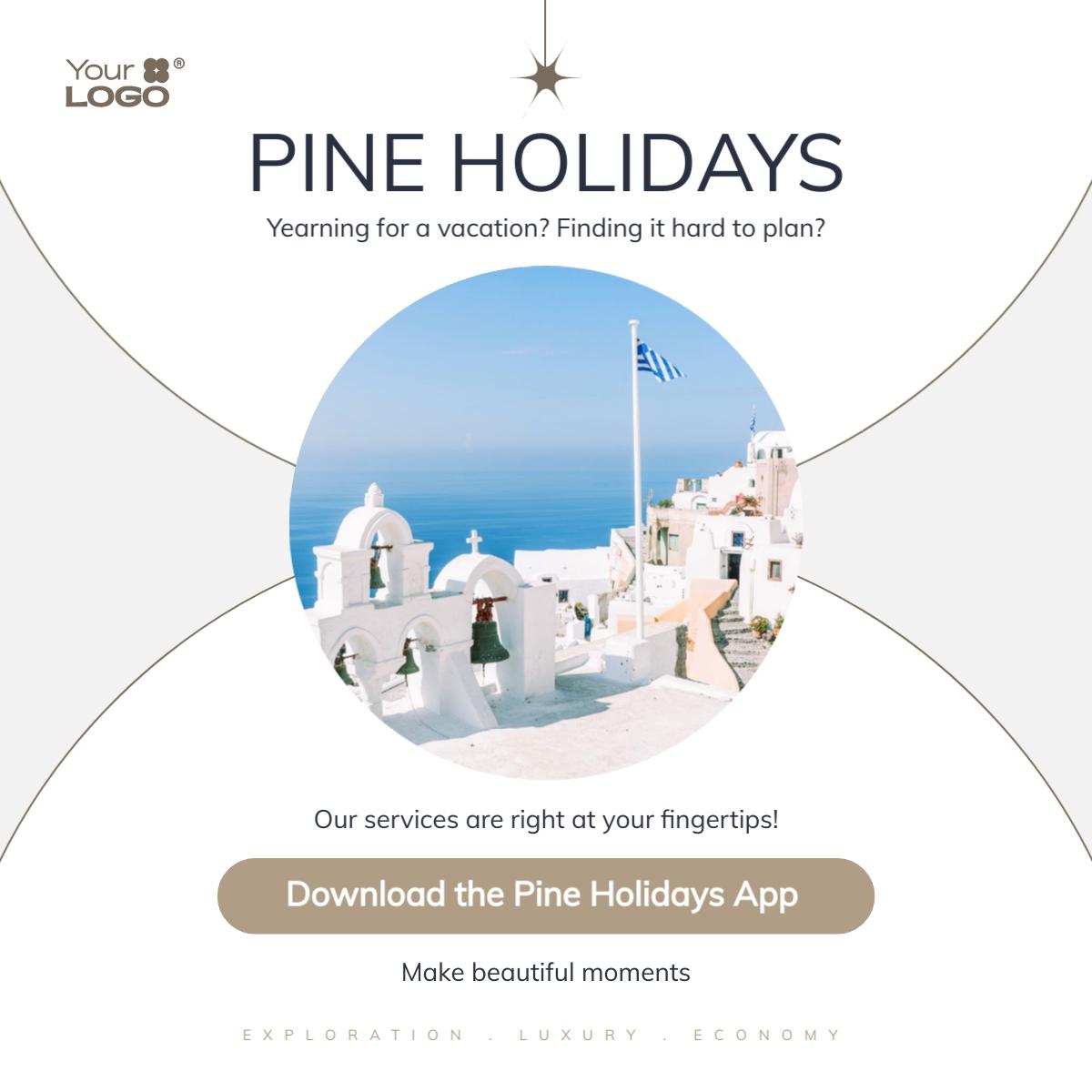 Travel App - LinkedIn Post Template