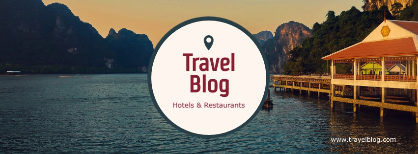 Travel Blog Facebook Cover  Template