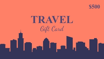 Travel - Gift Card Template
