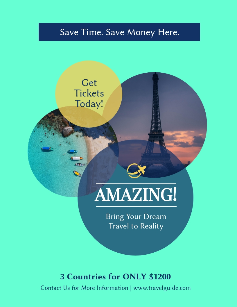 Travel Guide - Flyer Template