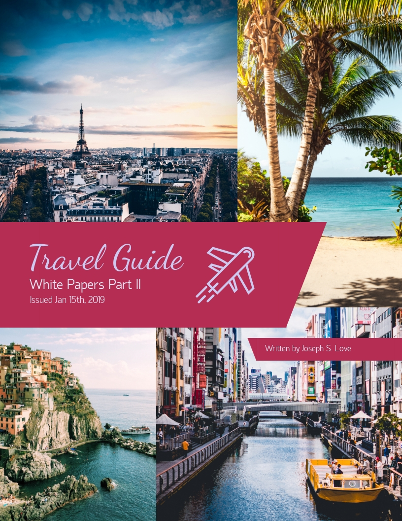Travel Guide - White Paper Template