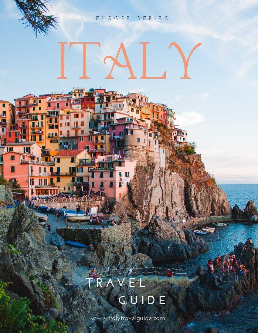 Travel Italy - Ebook Template