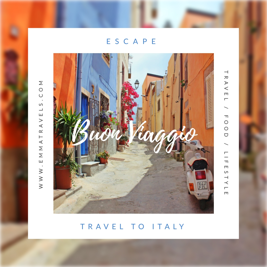 Travel Italy Post Animated Square Template
