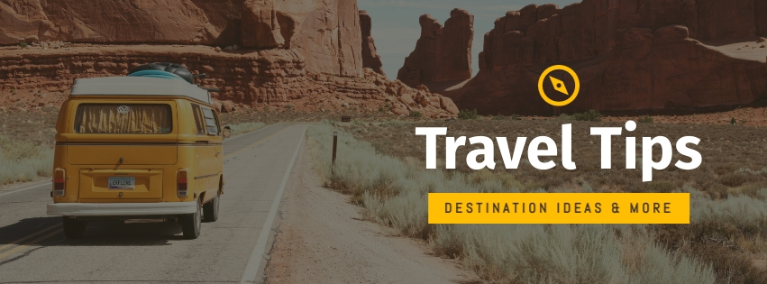 Travel Tips Facebook Cover  Template