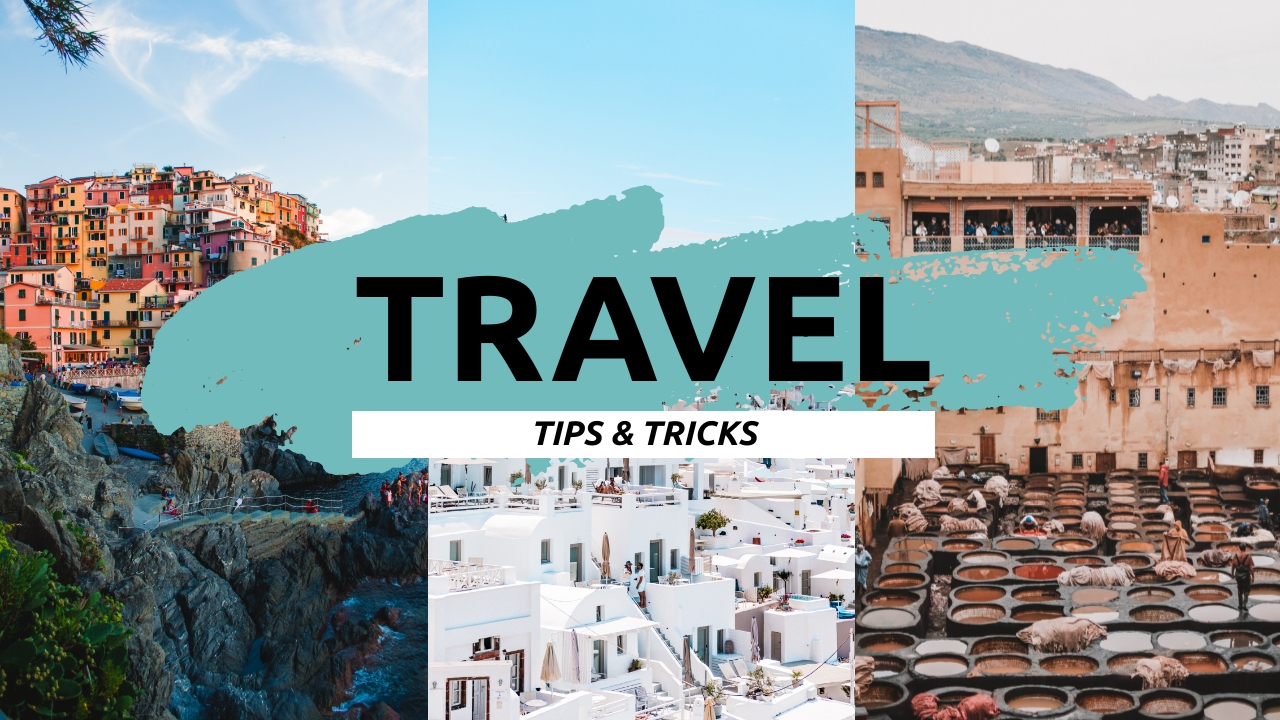Travel Tips and Tricks Youtube Video Cover Template