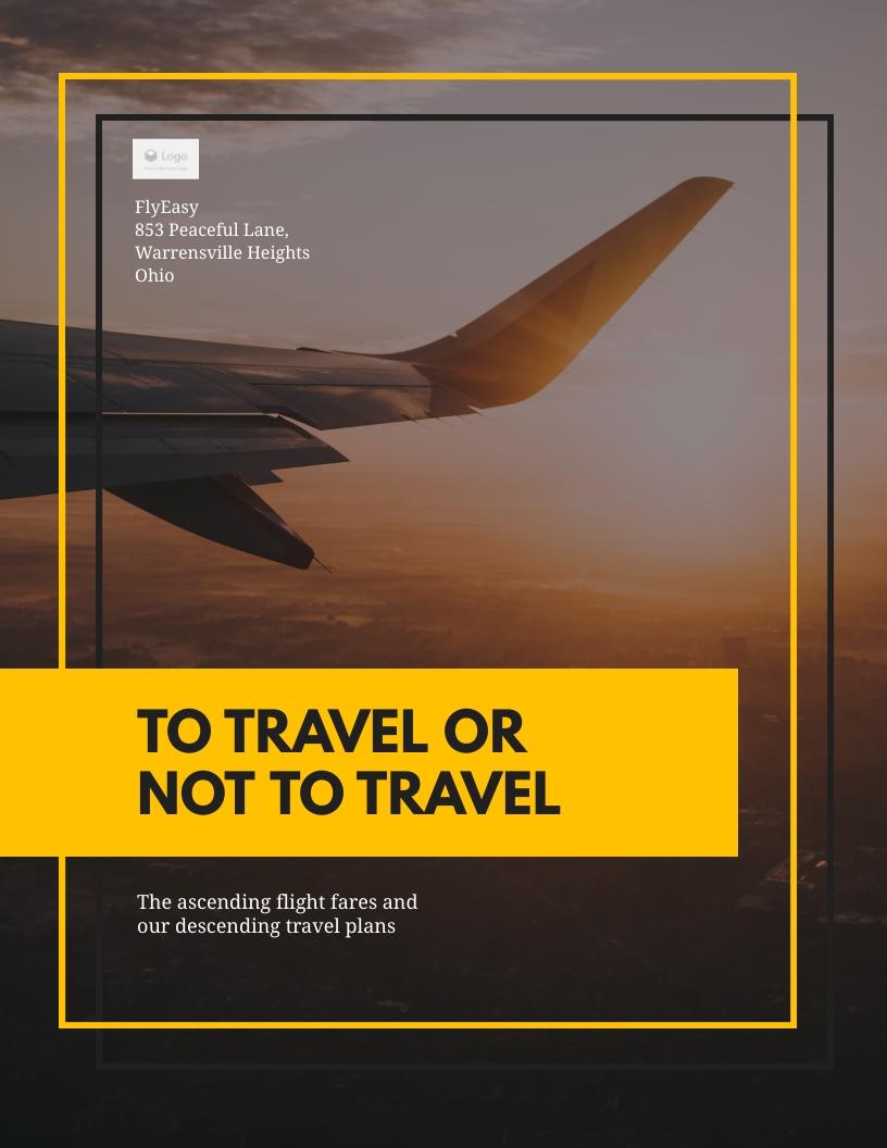 Travel App - White Paper Template