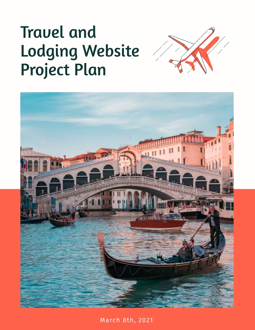 Travel Website - Project Plan Template
