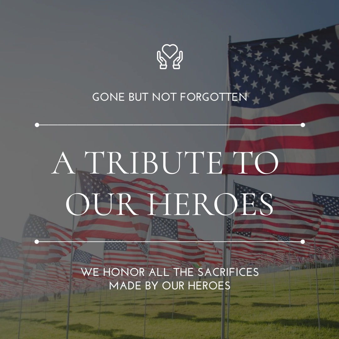Tribute to Heroes Animated Square Template