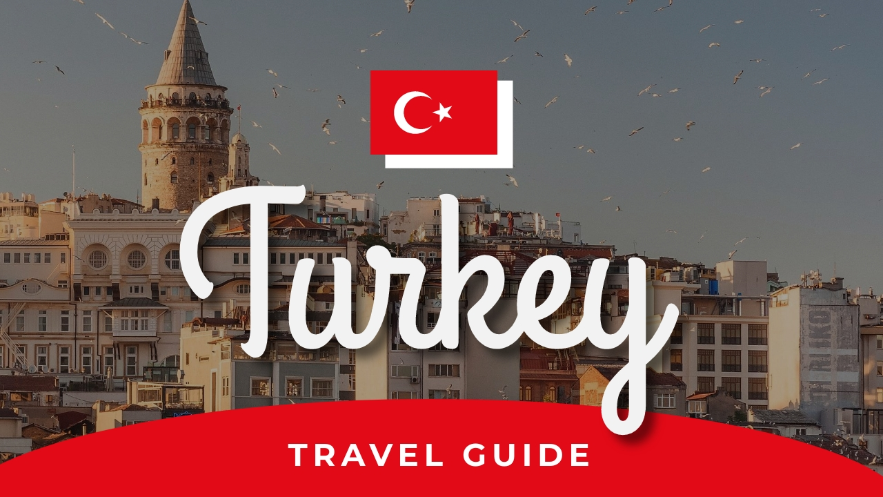 Turkey Travel Guide Youtube Thumbnail Template