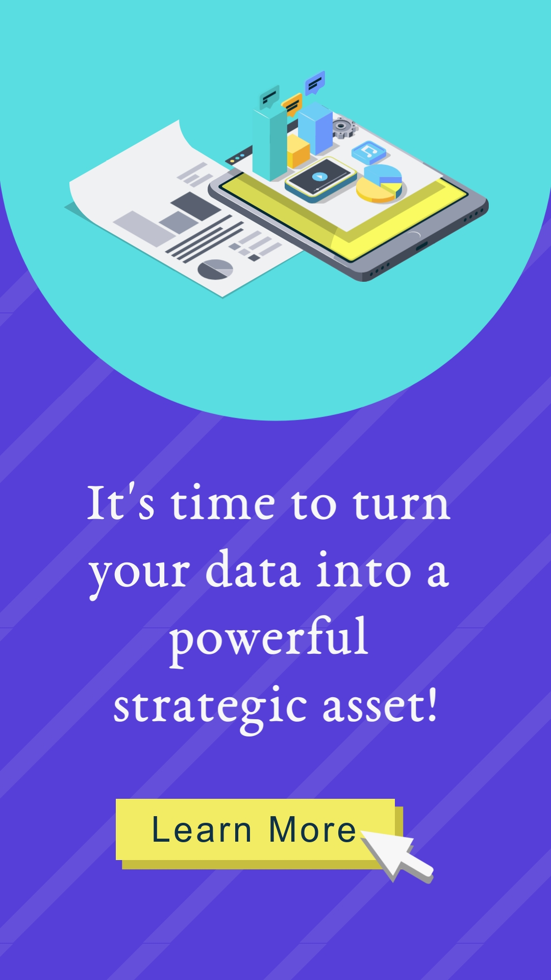 Turn Data into a Powerful Strategic Asset Vertical Template
