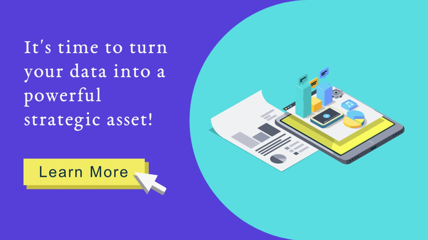Turn Data into a Powerful Strategic Asset Wide Template