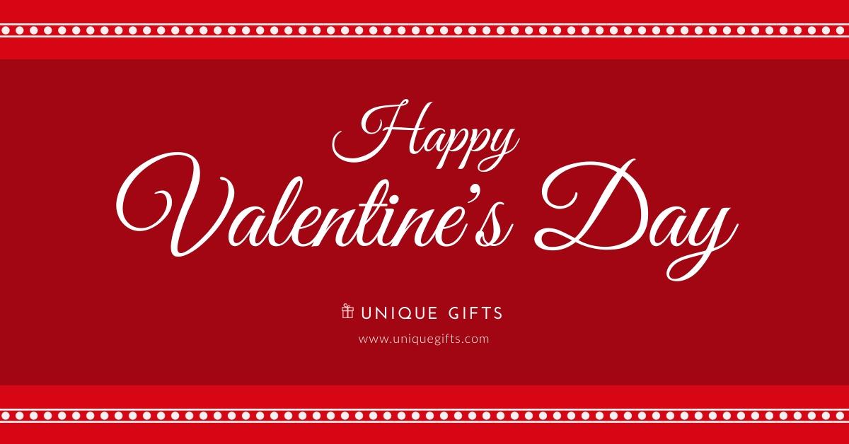 Unique Valentine Gifts Facebook Ad  Template