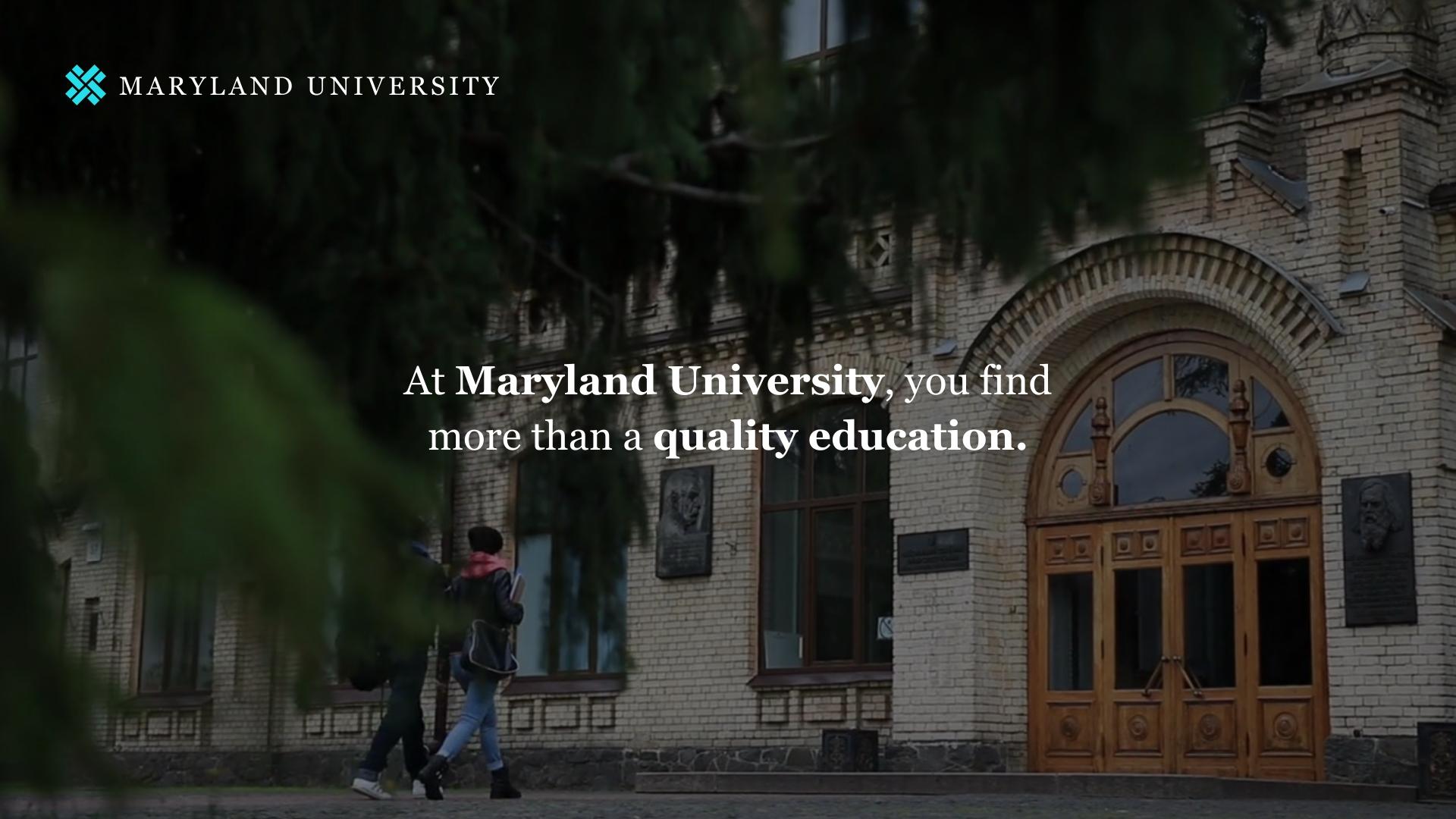 University Twitter Video Ad Template