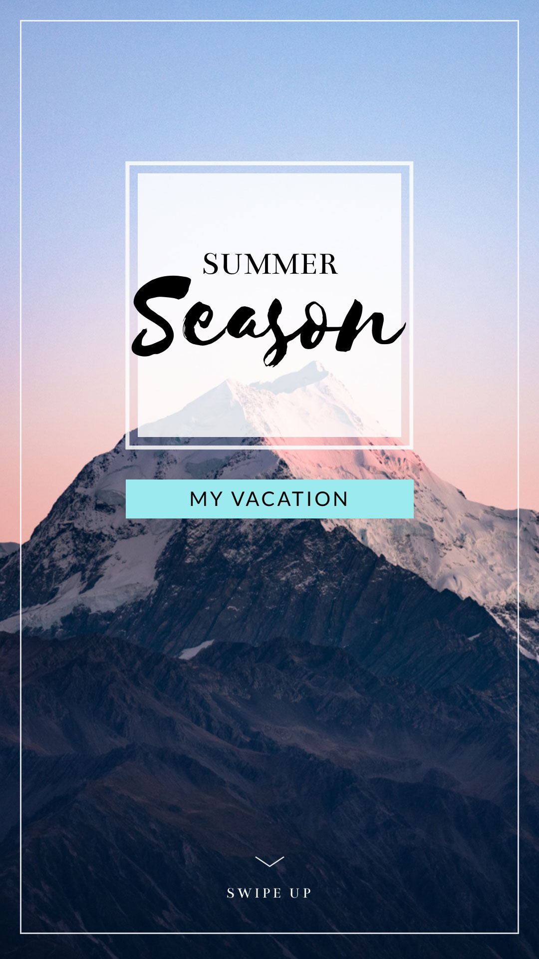 Vacation Instagram Stories Template