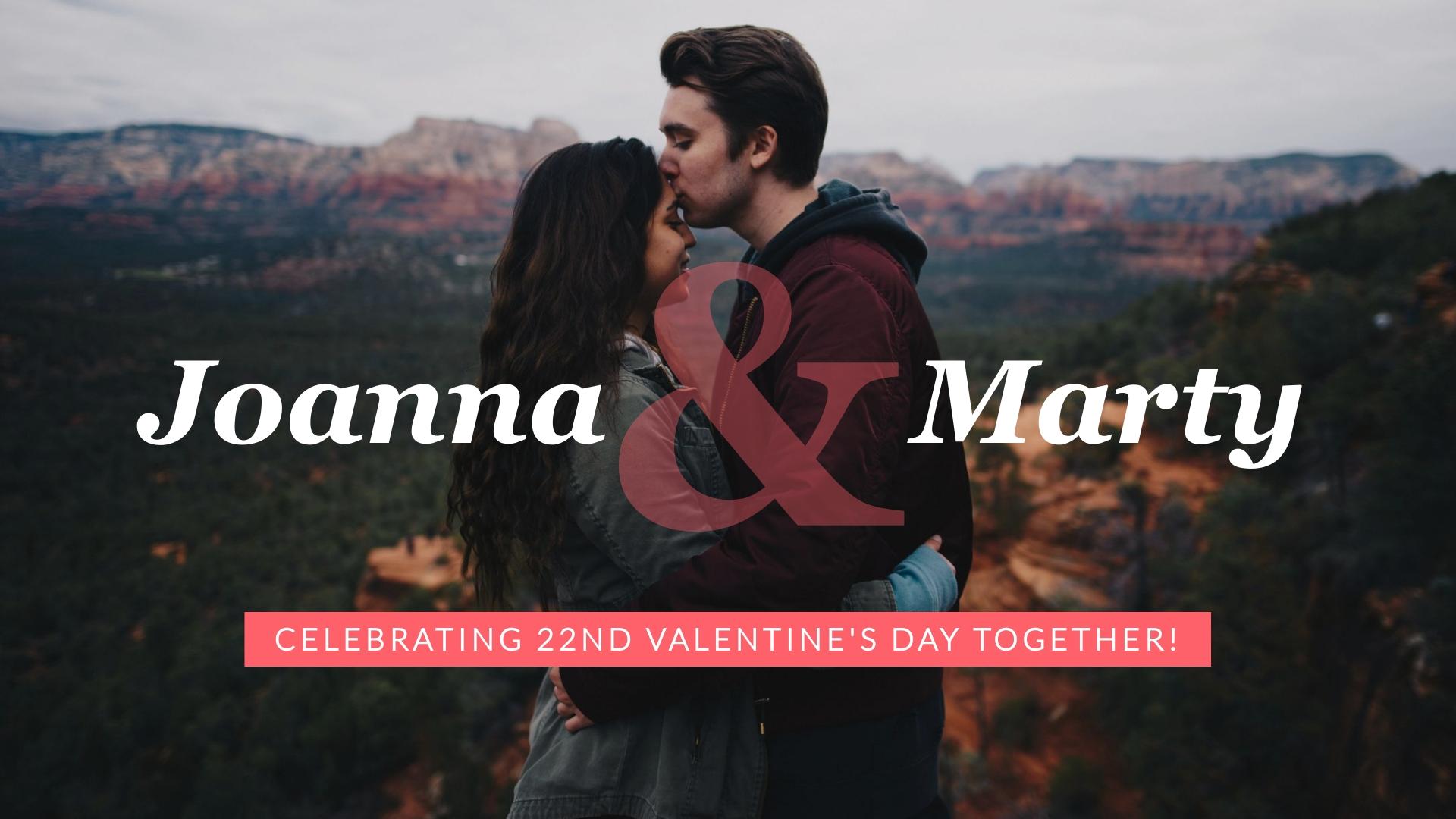 Valentine's Day - Photo Video Template