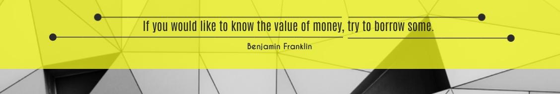 Value of money LinkedIn Header Template