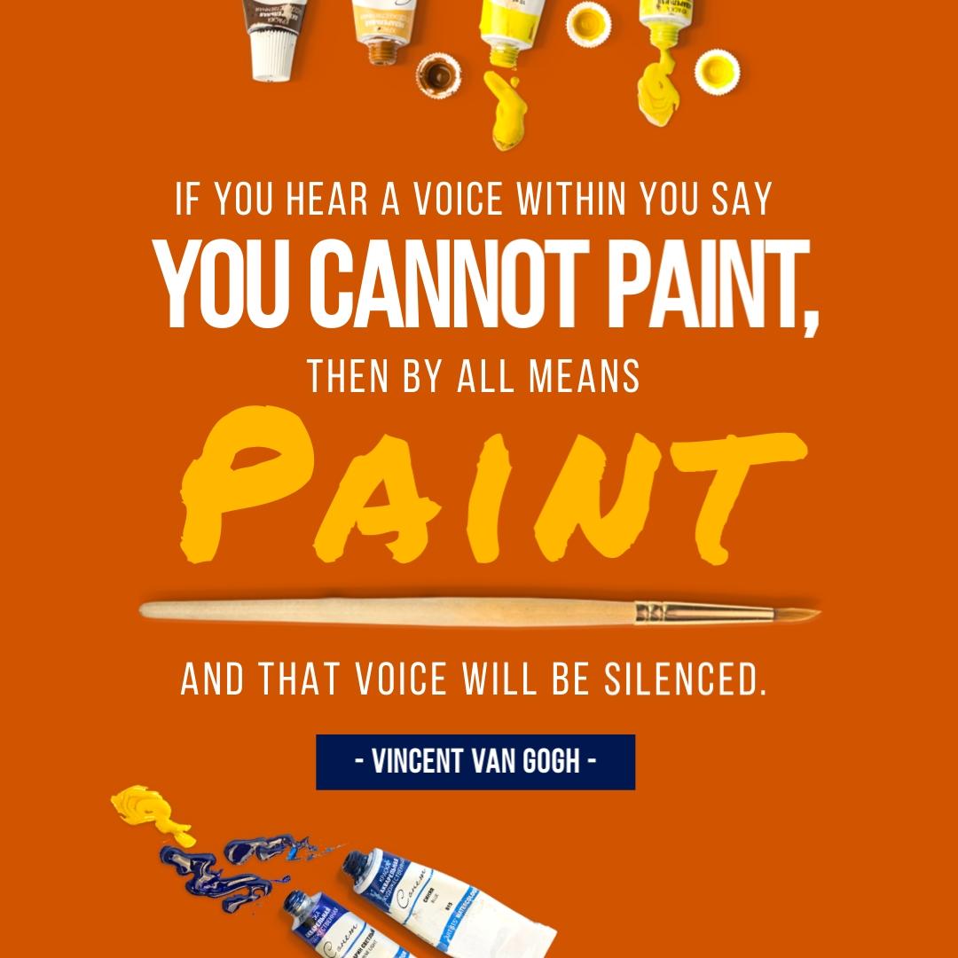 Van Gogh Quote - Instagram Post Template