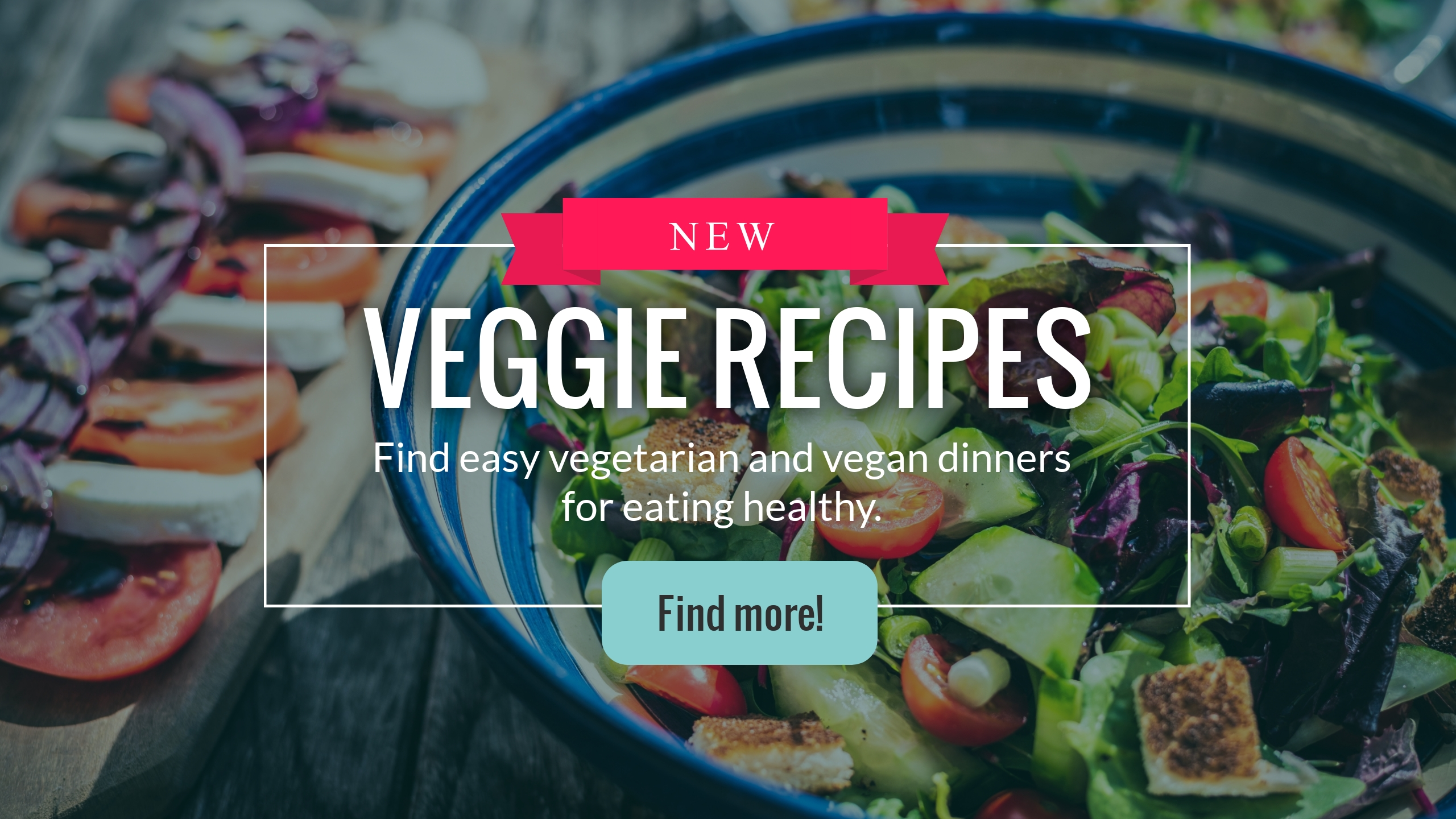 Veggie Recipes Youtube Channel Art Template